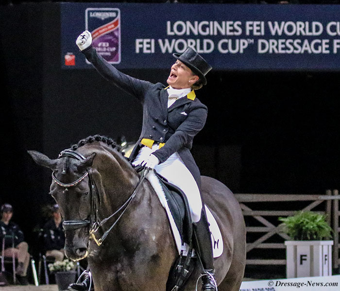 Isabell Werth e Weihegold OLD, fonte dressage news