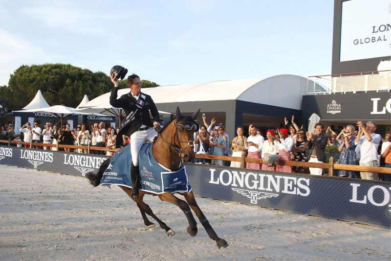 Ben Maher (GBR) on Winning Good triumph in the LGCT Grand Prix of St Tropez, ph.Stefano Grasso, LGCT