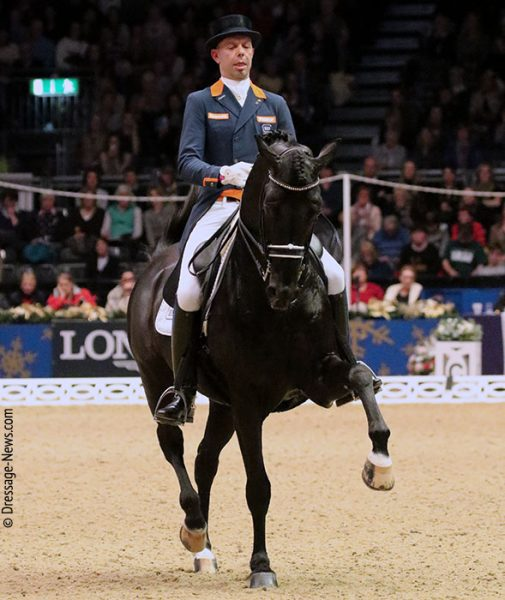 Hans Peter Minderhoud com Dream Boy vence Mechelen Copa do Mundo Grand Prix Freestyle