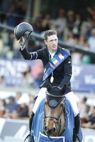 Scott Brash (GBR) on Ursula XII is the winner of Longines Global Champions Tour Gran Premio de Mexico - ph.Stefano Grasso LGCT
