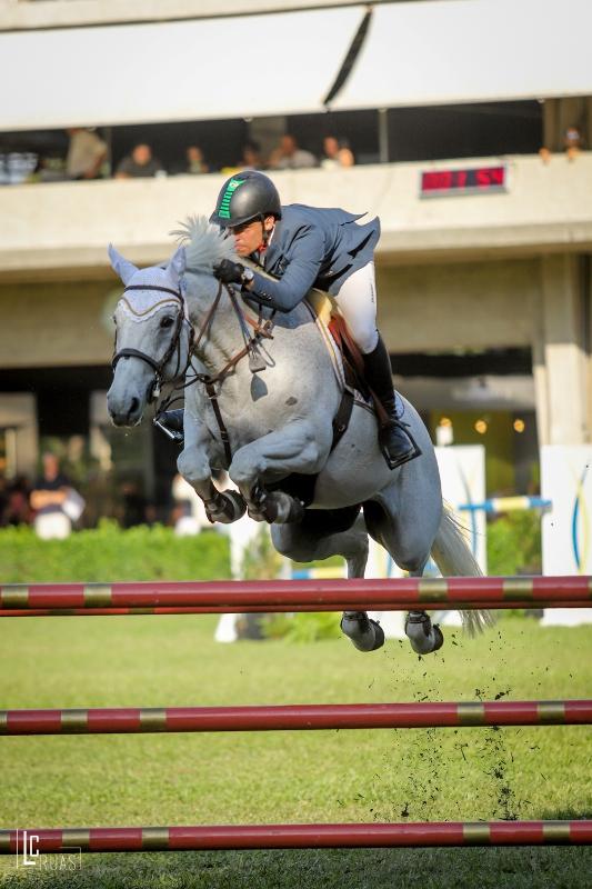 Stephan Barcha com O Mundo do Cavalo Chevaux Zilverstone