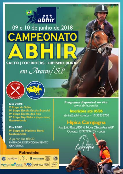 Campeonato Vista Araras Brasileiro de Hipismo