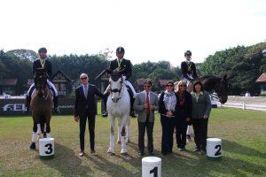Vencedores do Small Tour qualificativa para Pan com juízes, foto Carol May