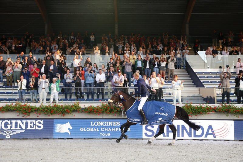 Multidão em casa elogia a vitória de Frank Schuttert no Grande Prémio LGCT, ph.Stefano Grasso, LGCT