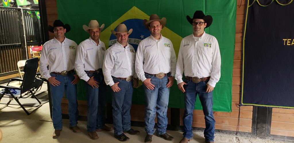 A equipe brasileira de Rédeas tem boas chances de medalha