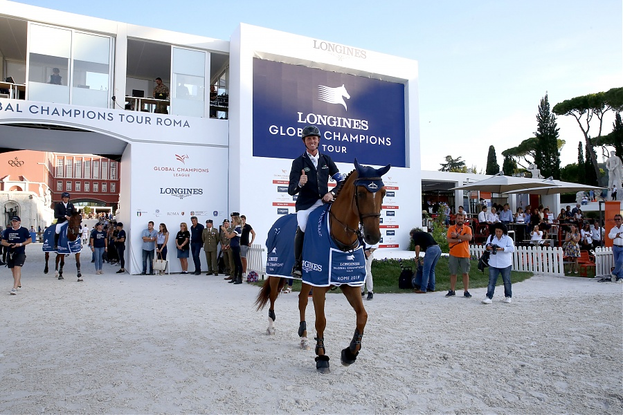 Ben Maher triumphs in the LGCT Grand Prix of Rome, ph.Stefano Grasso, LGCT