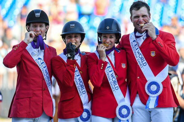EUA levam ouro de equipe  na WEG: 'Tenho orgulho de ser americano hoje'