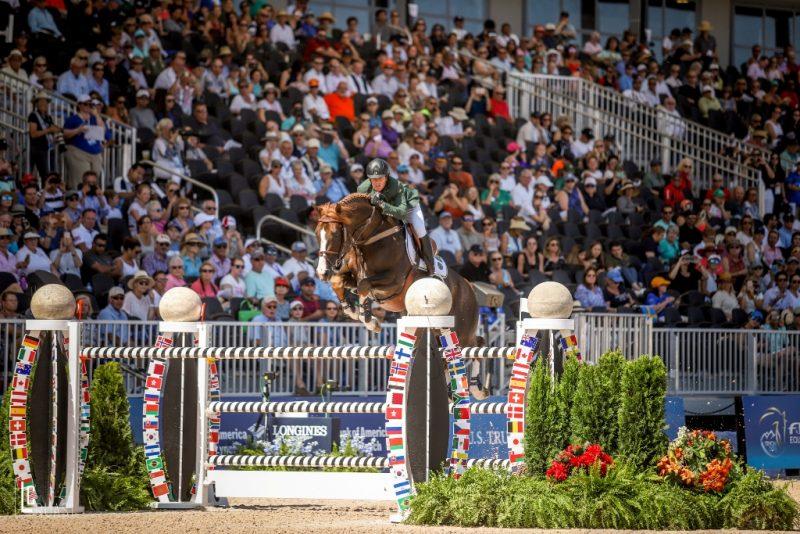 Pedro Veniss mantém chances de pódio na Final individual dos Jogos Equestres Mundiais 2018