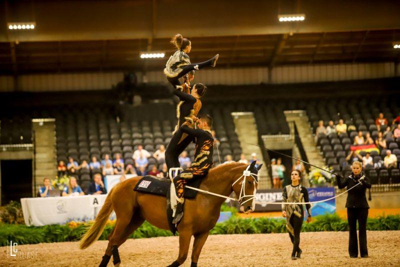 Time Brasil de Volteio mostra evolução técnica e fecha em 9º nos Jogos Equestres Mundiais