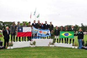 Argentina, ouro, Chile, prata e Brasil, bronze (Imagem Electro Time)