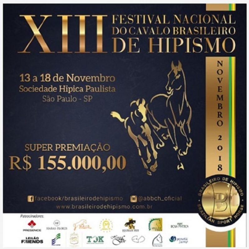 XIII Festival Nacional Do Cavalo Brasileiro De Hipismo