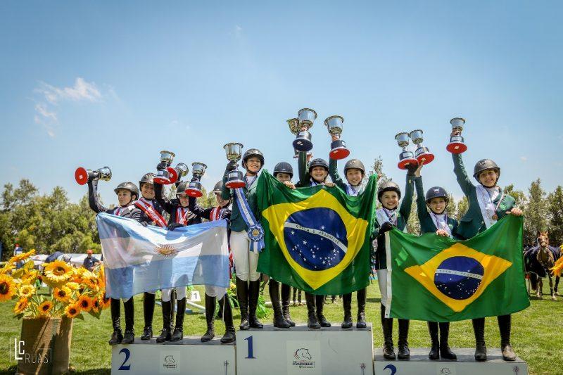 Times Brasil no Sul-Americano da Juventude faturam ouro em todas as categorias