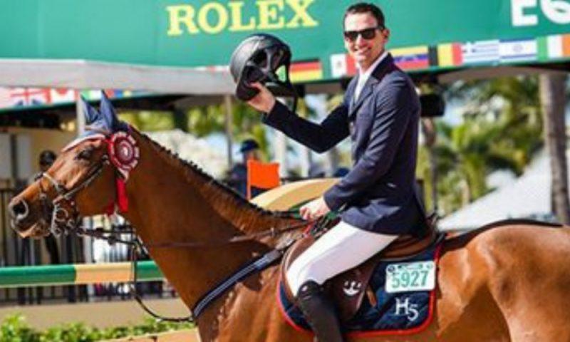 Eduardo Menezes é vice em prova do Winter Equestrian Festival