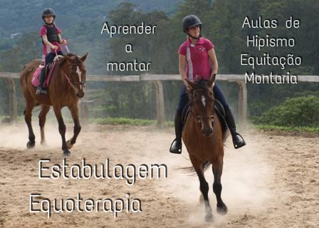 Aulas de Equitação, Estabulagem, Equoterapia (1)