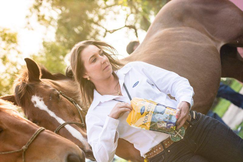 Claudia Ceola – médica veterinária e supervisora técnica de equinos da Guabi Nutrição e Saúde Animal