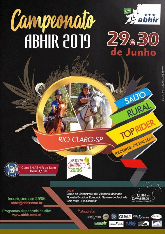 Etapa ABHIR Rio Claro 29 e 30-6