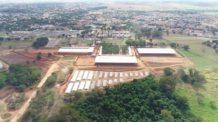 Recinto de Exposições Clibas de Almeida Prado, em Araçatuba