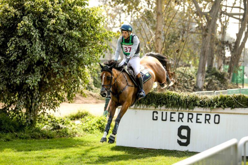 Carlos Parro, o Cacá, com Quaikin Quorious vem em 3º (CBH - Luis Ruas)
