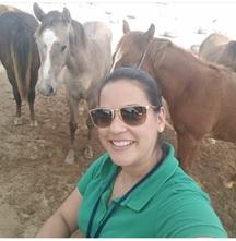 Luzilene Araujo de Souza, Médica Veterinária, Doutoranda na UFRPE, supervisora técnica de Equinos na Guabi Nutrição e Saúde Animal