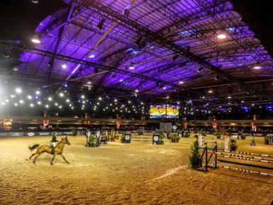 Indoor SHP umas vitrines do bilionário mercado de cavalos