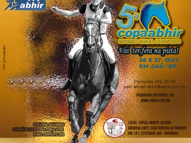 Copa Abhir de Hipismo Rural Completo 26  e 27/10