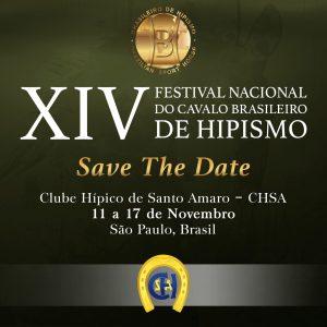 EXPOSIÇÃO DO XIV FESTIVAL NACIONAL DO CAVALO BRASILEIRO DE HIPISMO (BH)