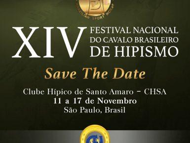 XIV FESTIVAL NACIONAL DO CAVALO BH TEM INSCRIÇÕES PRORROGADAS ATÉ O DIA 08/11