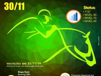 Campeonato Brasileiro de CCE, Colina – 30/11